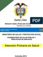 Presentación Atención Primaria en Salud