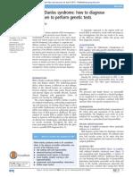How to Diagnose EDS 2015