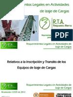 RTA - Requerimientos Legales en Actividades de Izaje de Cargas