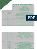 calendario de sesiones b2015b