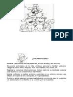 Unidades a Trabajar en Primero Básico Información Para Pegar en Cuaderno