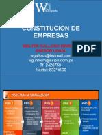 2 Constitución de Empresas (1)