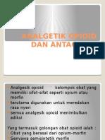 Analgetik Opioid Dan Antagonis 2007
