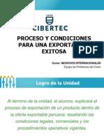 Unidad 4 - Proceso y Condiciones Para Una Exportación Exitosa 2015-I (1)