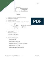 Topic 4 Integration