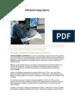 Estudio de La UNAM Devela Rezago Laboral