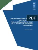 Diagnostico de las necesidades de capacitación para la formación en Chile de RRD