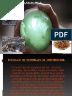 Material Reciclado en la construccion