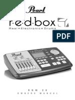 Pearl RBM 20 Module OwnersManual