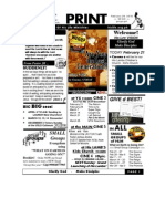 February 28 2010 Newsletter Small Nationwide