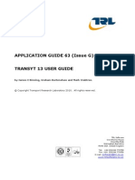 156421193 Transyt 13 User Guide