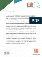 Bases III Congreso RINIE_Chillán 2015