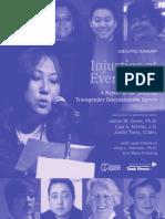 National Transgender Discrimination Survey