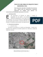 Estudio de Suelos de Una Obra de Arquitectura e Ingenieria Civil
