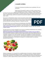 10 estrategias para cuando la dieta