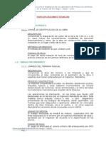 Especificaciones 2015