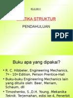 Kuliah 1 Statika Struktur.ppt