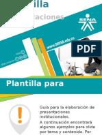 Plantila Presentacion SENA