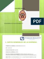Diapositivas del area de  Mantenimiento