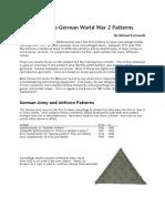 Ficha - German Patterns Camuflage