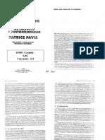 Pavis - Hacia Una Teoría de La Actuación