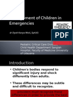 Management of Emergencies in Children