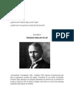 Frederick Taylor y Henri Fayol