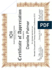nota certificate