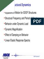 SDOF Dynamics