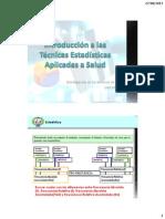 Introducción Técnicas Estadísticas Aplicadas a Salud (2)