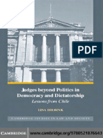 Judges Beyond Politics and in Democracy and Dictatorship - Lessons From Chile