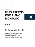 Patterns for Piano Montuno