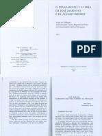 O pensamento e a obra de José Marinho e de Álvaro Ribeiro - vol.1