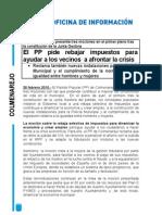 Nota Prensa Mociones Febrero 2010