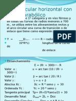 Curva Circulacurva campor Horizontal Con Enlace Parabolico (1)