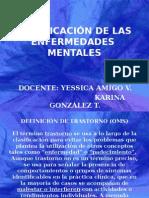 Clase 4 Clasificacion de Las Enfermedades Mentales