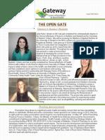 gateway newsletter august 2015