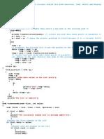 Circular Linled List - Program