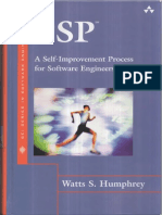 PSP a Self-Improvement Process for Software Engineers