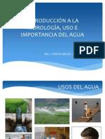 Introducción a La Hidrología, Uso e Importancia (1)