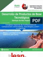 Workshop - Desarrollando Proyectos de Base Tecnológica