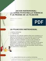 La Filiacion Matrimonial Exposicion