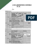 Desarrollo de Laboratorio Contable - Finanzas 2014