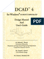 Manual Sedcad