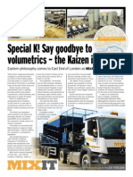 Mixit Adds Modern Kaizen Mixer Vehicle To Its Concrete Fleet List