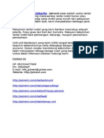 Sewa Dan Rental Mobil Di Jakarta - Jakrent.com