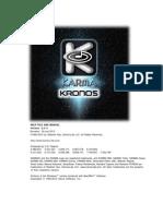 KARMA Kronos Help 2.2.11