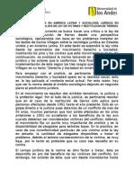 Sociología Jurídica en América Latina y Sociología Jurídica en Estados Unidos