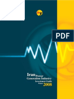 Iran Power Generation Industry