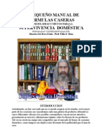 Pequeno Manual de Formulas de Productos Caseros